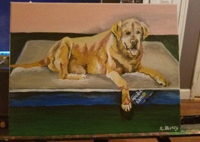 """Max"" Acrylic By Kim Blaney"